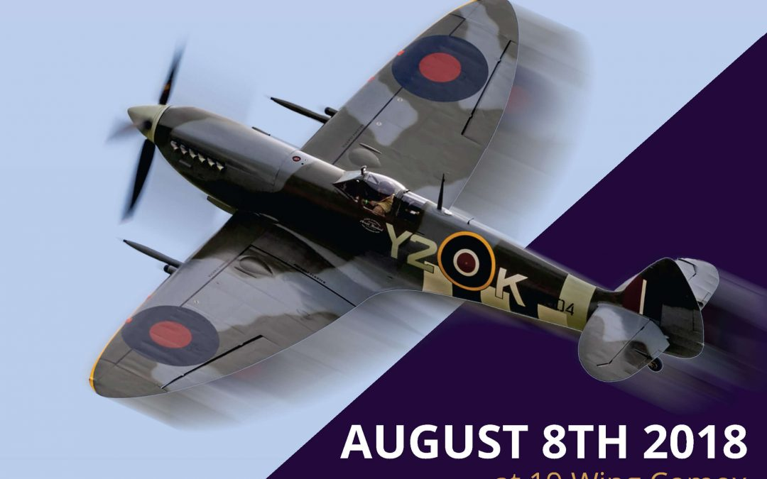 Y2K Spitfire returning to Comox for once in a life time event